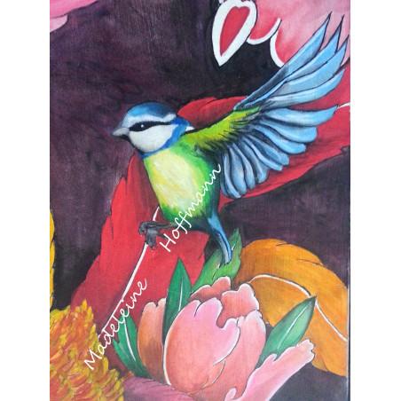 Peinture Tatouage Japonais Grand Phoenix 20M