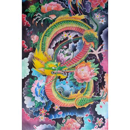 Peinture Tatouage Japonais Dragon Sacré 20M