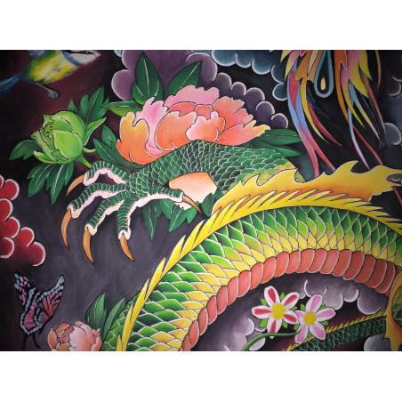 Peinture Tatouage Japonais Dragon 20M