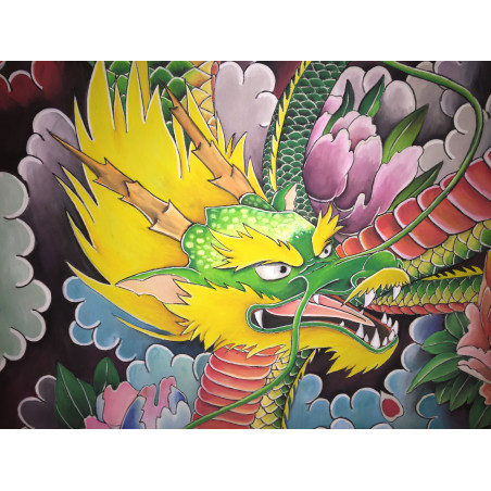 Peinture Tatouage Japonais Dragon 50M