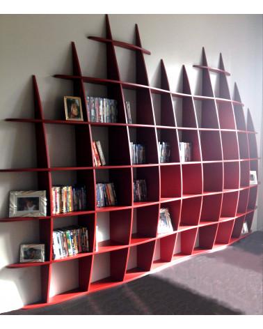 Bibliothèque Retento Gm2 rouge pivoine